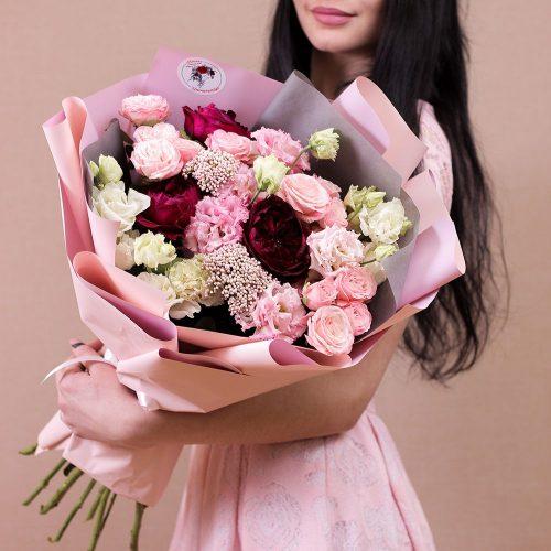 роза, пионовидная роза, кустовая роза купить в Бресте с доставкой