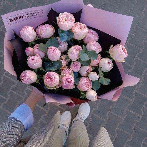 Букет роз с доставкой в Бресте. Орхидея