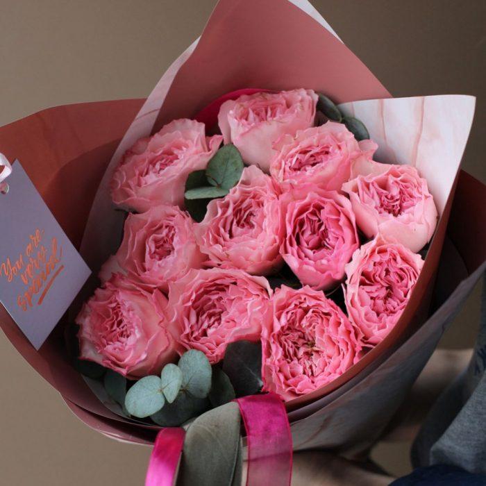 Купить пионовидные розы в Бресте с доставкой
