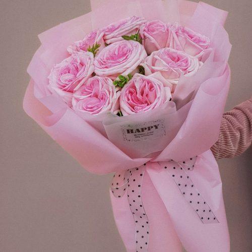 Букет из пионовидная роза в Бресте купить с доставкой